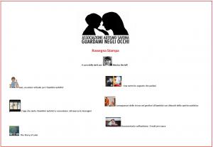 Copertina_Rassegna Stampa Autismo_Associazione Guardami Negli Occhi_n°1_08-04-2013